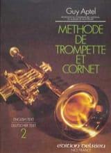 Guy Aptel - Méthode de Trompette et de Cornet Volume 2 - Partition - di-arezzo.fr