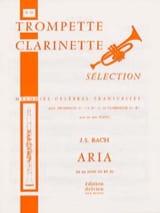 Aria de la Suite En Ré - N° 21 BACH Partition laflutedepan.com