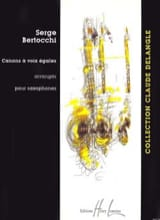 Serge Bertocchi - Equal Voice Cannons - Sheet Music - di-arezzo.com