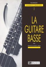 La Guitare Basse Volume 2 - Technique laflutedepan.com