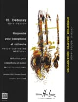 DEBUSSY - Rhapsody - Sheet Music - di-arezzo.co.uk