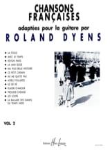 Roland Dyens - Chansons Françaises Volume 2 - Partition - di-arezzo.fr