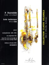 Pedro Iturralde - Hellenic Suite - Sheet Music - di-arezzo.co.uk