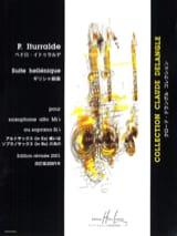 Suite Hellénique Pedro Iturralde Partition laflutedepan.com