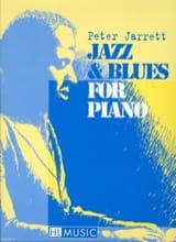 Jazz & Blues For Piano Peter Jarrett Partition Jazz - laflutedepan.com