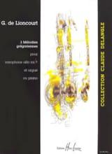 Trois Mélodies Grégoriennes Guy De Lioncourt laflutedepan.com
