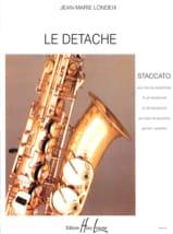 Londeix - Détaché (Staccato) - Partition - di-arezzo.fr