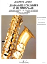 Jean-Marie Londeix - Joint Ranges and Intervals - Sheet Music - di-arezzo.co.uk