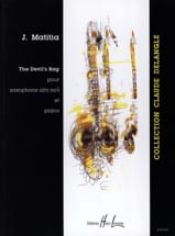 The Devil's Rag Jean Matitia Partition Saxophone - laflutedepan.com