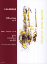 Niccolo Paganini - 24 Caprices Opus 1 Volume 2 - Partition - di-arezzo.fr