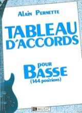 Alain Pernette - Tableau D' Accords Pour Basse (144 Positions) - Partition - di-arezzo.fr