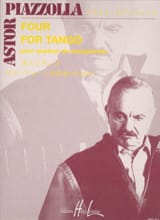 Astor Piazzolla - Four for tango - Sheet Music - di-arezzo.com