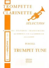 Trumpet Tune N° 15 Henry Purcell Partition laflutedepan.com
