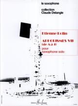 Aphorismes VII (A-J) Volume 1 - Etienne Rolin - laflutedepan.com