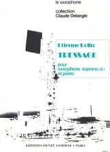 Tressage - Etienne Rolin - Partition - Saxophone - laflutedepan.com