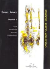 Legend II Doïna Rotaru Partition Saxophone - laflutedepan.com