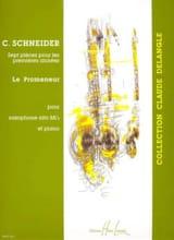 Le Promeneur Catherine Schneider Partition laflutedepan.com