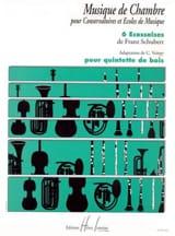SCHUBERT - 6 Ecossaises - Partition - di-arezzo.fr