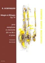 Adagio & Allegro Opus 70 SCHUMANN Partition laflutedepan.com