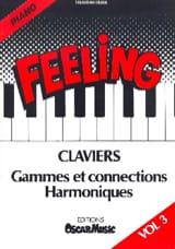 Feeling Vol.3 Derek Sébastian Partition Piano - laflutedepan.com