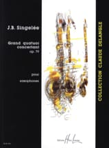 Jean-Baptiste Singelée - Grand Concertant Quartet Opus 79 - Sheet Music - di-arezzo.co.uk