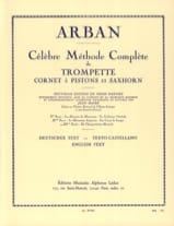 Méthode Volume 3 Jean-Baptiste Arban Partition laflutedepan.com