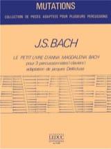Johann Sebastian Bach - Le Petit Livre d'Anna Magdalena Bach - Partition - di-arezzo.fr