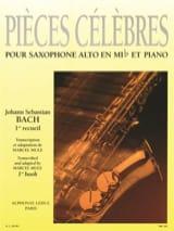 BACH - Pièces Célèbres Volume 1 - Partition - di-arezzo.fr