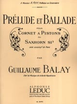 Guillaume Balay - Prelude and Ballad - Sheet Music - di-arezzo.com