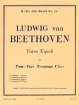 3 Equali BEETHOVEN Partition Trombone - laflutedepan.com