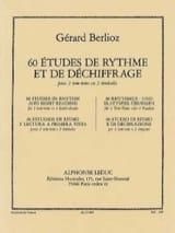 Gérard Berlioz - 60 Rhythmusstudien - Noten - di-arezzo.de