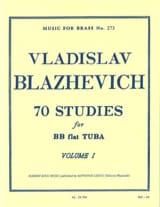 Vladislav Blazhevich - 70 Studies Volume 1 - Sheet Music - di-arezzo.co.uk