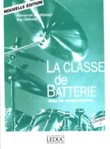 BOURSAULT - LEFEVRE - The battery class in conservatories notebook 3 - Sheet Music - di-arezzo.co.uk