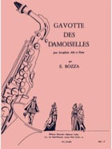 Gavotte Des Damoiselles Eugène Bozza Partition laflutedepan