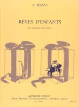 Rêves D' Enfants Eugène Bozza Partition Saxophone - laflutedepan