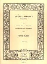 Adeste Fideles Henri Busser Partition Trompette - laflutedepan.com