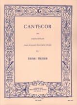 Henri Busser - Cantecor - Partition - di-arezzo.fr