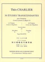 Théo Charlier - 36 Etudes Transcendantes - Partition - di-arezzo.fr