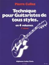 Technique Pour Guitaristes de Tous Styles Volume 1 laflutedepan.com