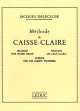 Méthode de Caisse-Claire Jacques Delécluse Partition laflutedepan.com