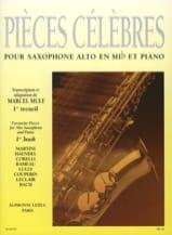 Pièces Célèbres Volume 1 Partition Saxophone - laflutedepan.com
