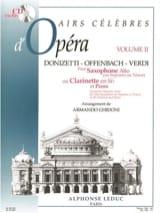 Airs Célèbres D' Opéra Volume 2 Partition laflutedepan.com