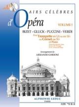 Airs célèbres d'opéra volume 1 - Partition - laflutedepan.com