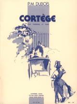 Cortège Pierre-Max Dubois Partition Trombone - laflutedepan.com