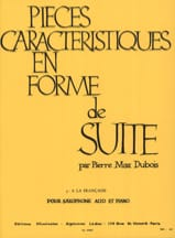 Pierre-Max Dubois - Pieces Features Volume 3 - French Style - Sheet Music - di-arezzo.co.uk