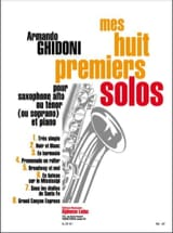 Armando Ghidoni - Mes Huit Premiers Solos - Partition - di-arezzo.fr