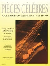 Pièces Célèbres Volume 1 HAENDEL Partition laflutedepan.com