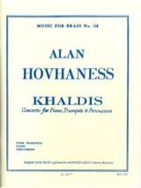 Khaldis Opus 91 Alan Hovhaness Partition Trompette - laflutedepan.com