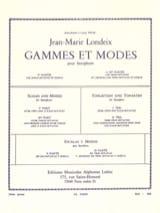 Jean-Marie Londeix - 範囲とモード第2巻 - 楽譜 - di-arezzo.jp