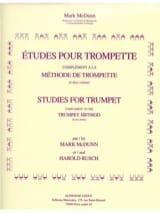 Etudes Pour Trompette Mcdunn / Rusch Partition laflutedepan.com